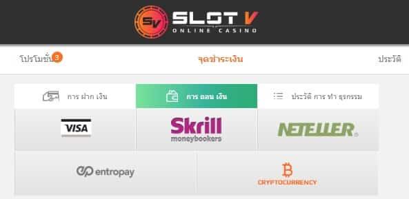 รีวิวแบบเจาะลึกของคาสิโนออนไลน์ SlotV