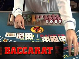 Baccarat Table Dealer