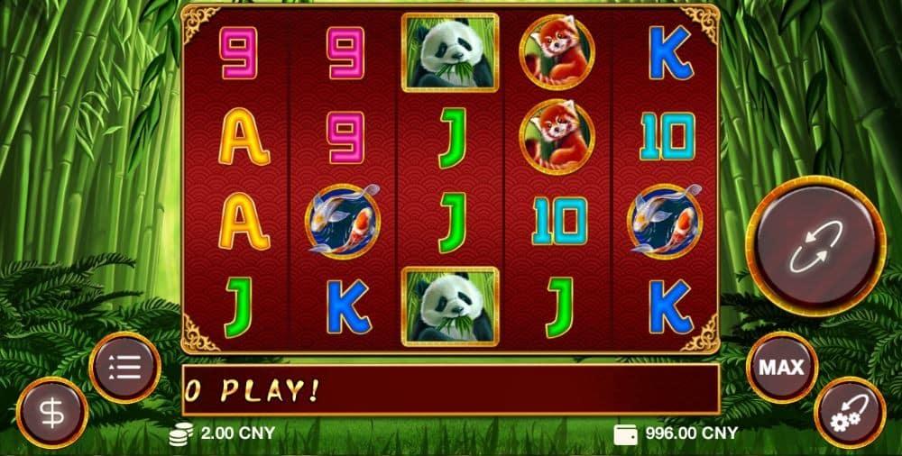 rich panda slot 1